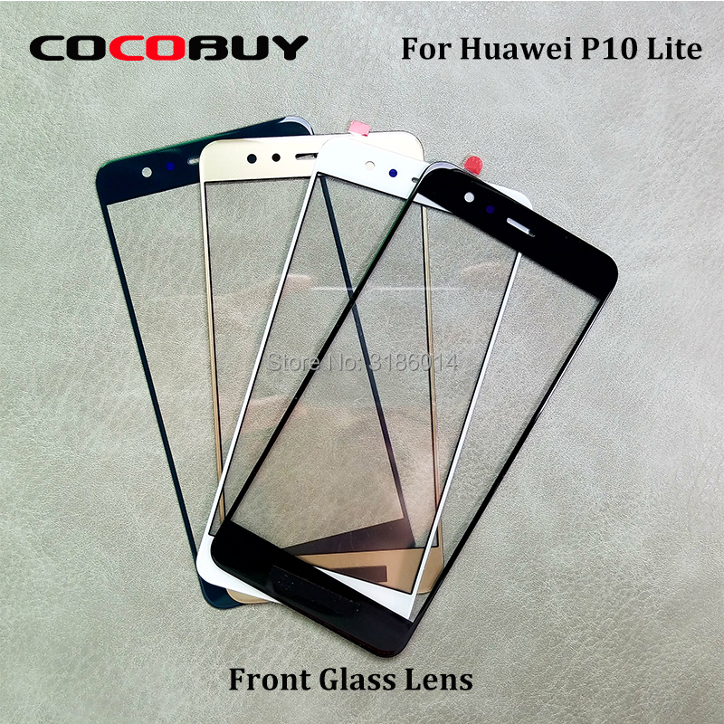 For Huawei P10 Lite/Nova Youth LCD Front Outer Screen Glass Lens LCD Screen Parts Replacement