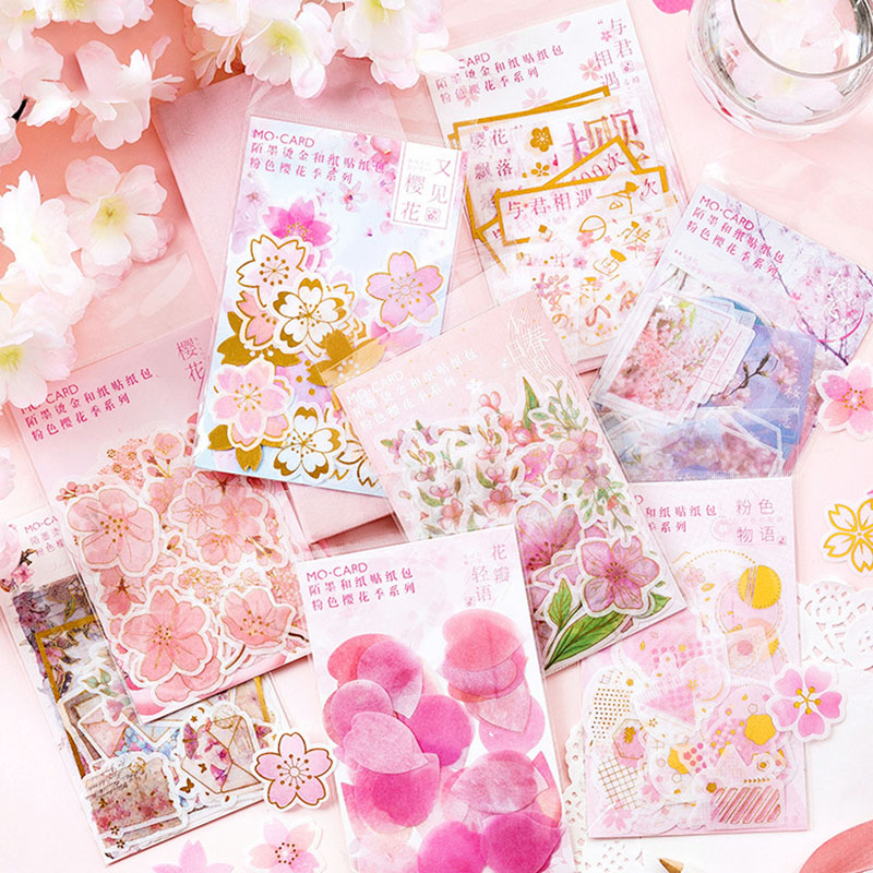 Kawaii Cherry Pink Stickers  1