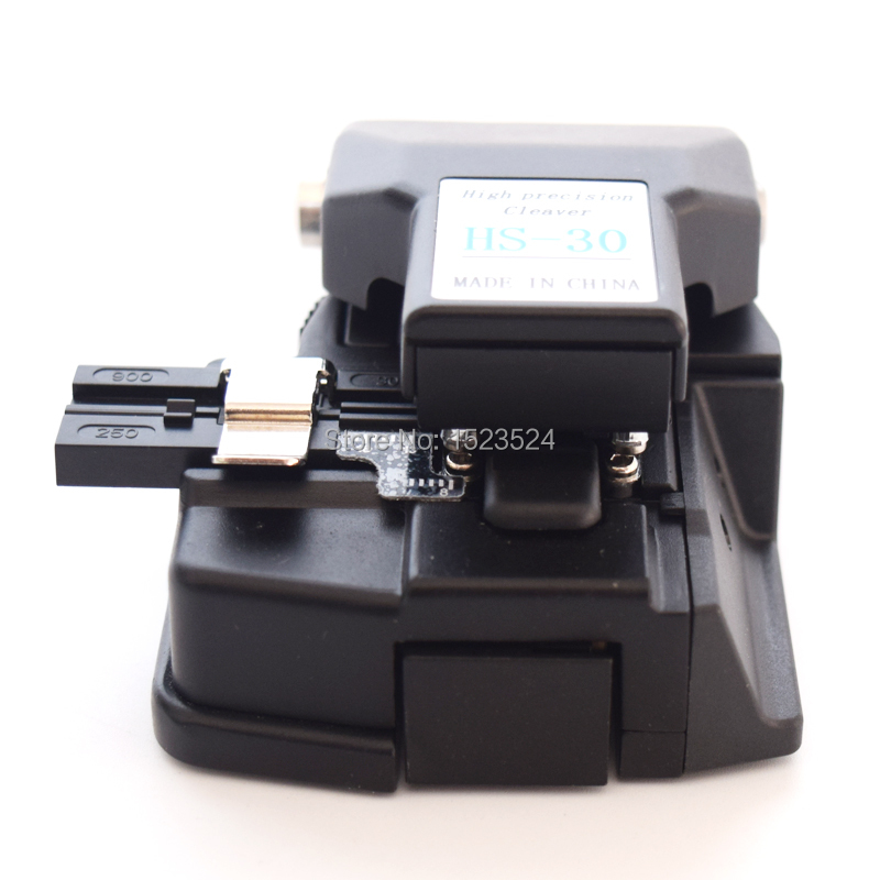 Image 2 - Free Shipping High Precision HS 30 Chinese Optic Fiber Cleaver Fiber Optics Cutter Comparable Fiber Cleaver CT 30-in Fiber Optic Equipments from Cellphones & Telecommunications