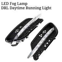 LED Fog Lamp DRL Daytime Running Light For Mercedes For Benz W204 C Class C300 For AMG Sport 2008 2009 2010 2011