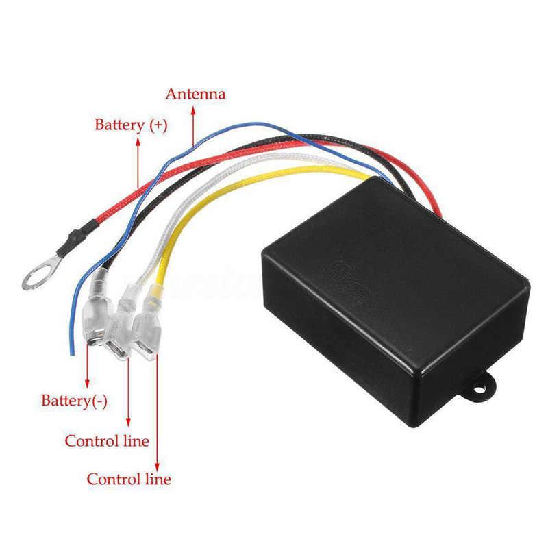 wireless winch remote wiring diagram  2000 crown vic fuse