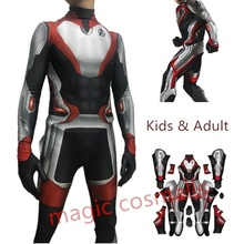 Cosplay The Avengers Endgame Advanced Tech Quantum Realm Suits Superhero Costume