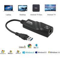 USB 3.0 إلى 10/100/1000 Mbps جيجابت RJ45 شبكة إيثرنت محلية محول جيجابت USB3.0 إيثرنت محول R19