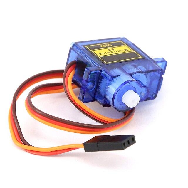 Высокое качество Мини SG90 шестерни микро мотор для вертолет, самолет с радиоуправлением синий или оранжевый SG90 Мини Мотор