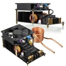 1 ADET ZVS indüksiyon ısıtma makinesi Soğutma Fanı PCB Bakır Boru 12 36 V 1000 W 20A Yüksek Frekanslı indüksiyon ısıtma makinesi Modülü