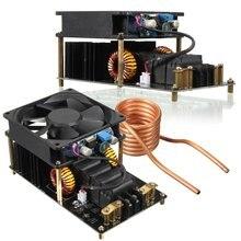 1 PC ZVS เครื่องทำความร้อนเหนี่ยวนำพัดลมระบายความร้อน PCB ทองแดงหลอด 12 36 V 1000 W 20A สูงความถี่โมดูลเครื่องทำความร้อนเหนี่ยวนำ