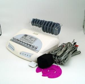 Image 4 - AURO новые русские волны микротоковая EMS электрический стимулятор мышц Массажер для тела Потеря Веса Электро Миостимуляция машина