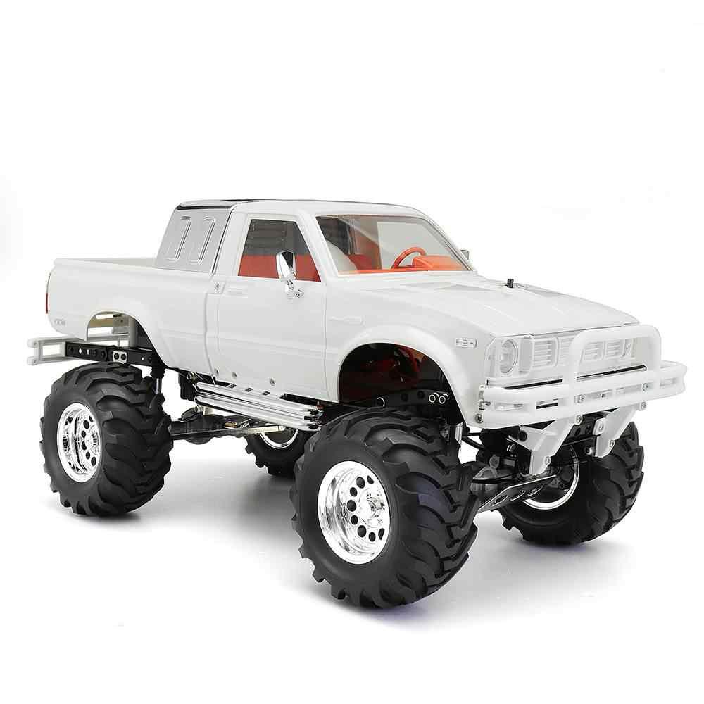 HG P407A 1/10 2,4 г 4WD машинка с дистанционным управлением для TOYATO Metal 4X4 пикап грузовик без сервопривода батарея ESC передатчик DIY RC детские игрушки