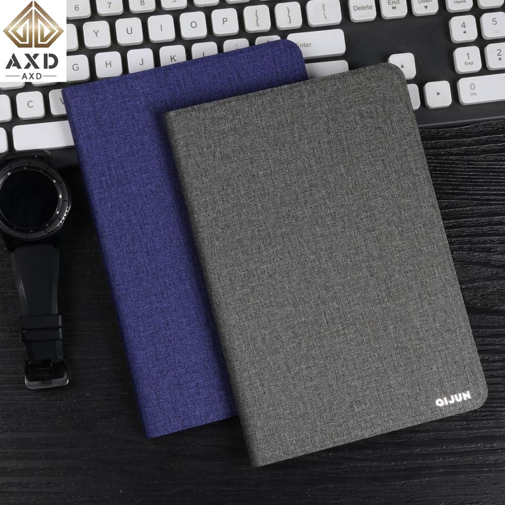 AXD Flip case for <font><b>Lenovo</b></font> Tab 4 8.0 inch Plus PU leather Protective Skin Cover Stand fundas capa for Tab4 TB-<font><b>8704</b></font> F N 3G 4G Wifi image