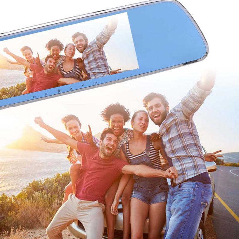 3g Multimediale In Streaming Registratore Di Guida Con 7-pollici Full Screen Smart Specchietto Retrovisore Hd Di Navigazione Android Monitoraggio Remoto Sistema Di Grande Assortimento