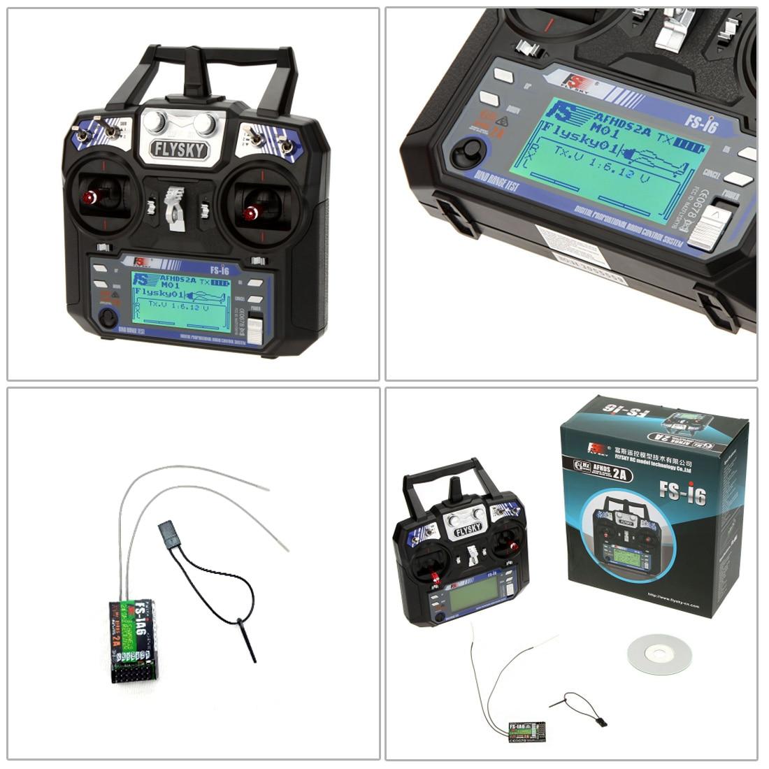 FAI DA TE RC Drone Kit Completo 4 Asse S600 Telaio PIX 2.4.8 di Controllo di Volo Cicalino di Allarme FS i6 Trasmettitore GPS Motore con il Caricatore Della Batteria - 4