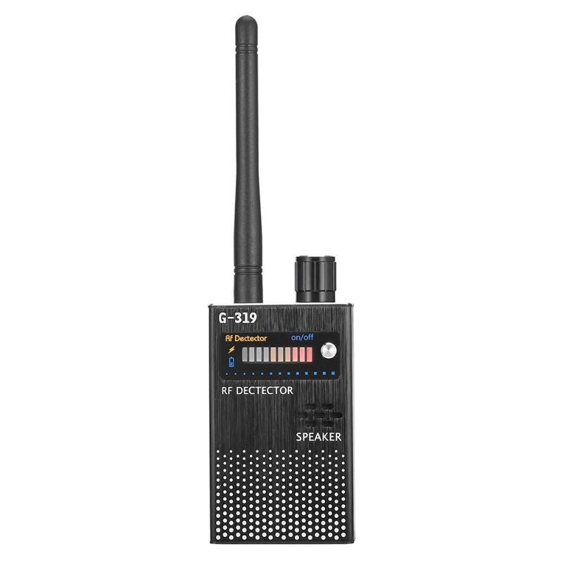 G319 sans fil Anti caméra candide RF détecteur de Signal Anti-GPS localisateur détecteur de téléphone détecteur contre les écoutes Protection EU
