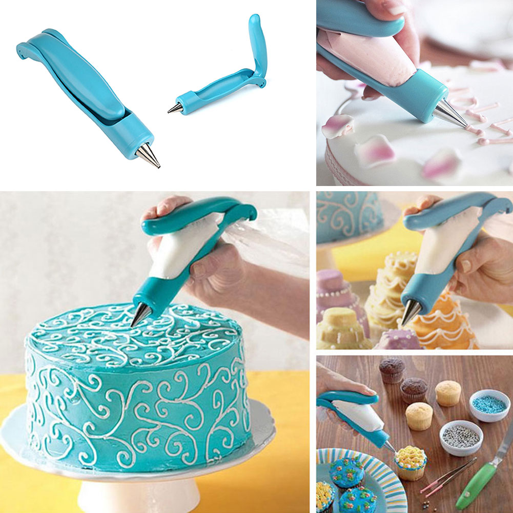 1Set Easy Use Icing Piping Cream Pastry Nozzles Tool Pen DIY Cake Decorating Tips Set