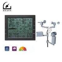 Один набор Профессиональная климатическая станция скорость ветра направление дождевика давление температура влажность УФ тест