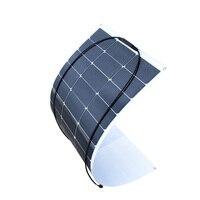 XINPUGUANG Новый высокоэффективный 19,5 V 100 w солнечная панель Гибкая солнечная батарейка модуль для 12 v системы DIY Kit RV автомобиль домашний питател