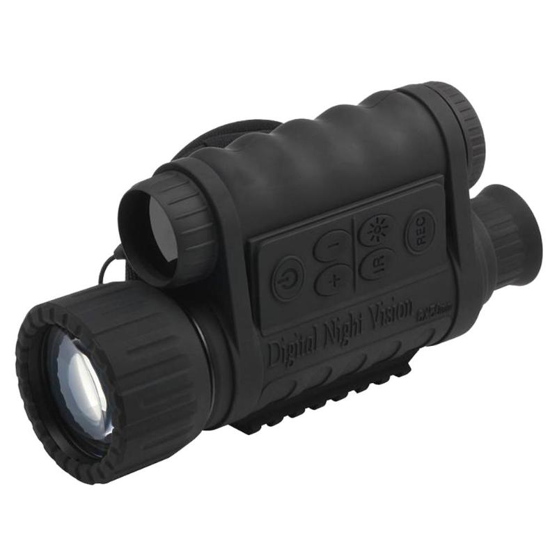 Digital PDE Night Vision Monocular IR Wildlife 6X50 5MP HD Camera Hunting Infrared 850NM Telescope