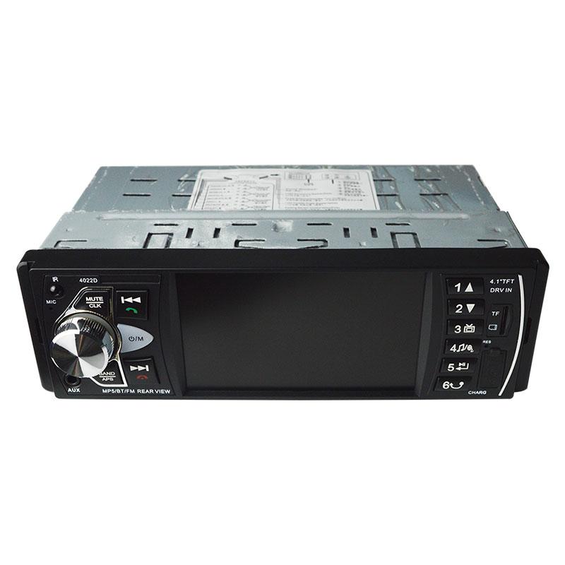 NEW-4022D 4.1 pouce 1 Din Autoradio Auto Audio stéréo Autoradio Bluetooth Usb volant télécommande