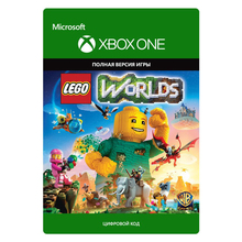 Игра для Microsoft Xbox One LEGO Worlds, русская версия