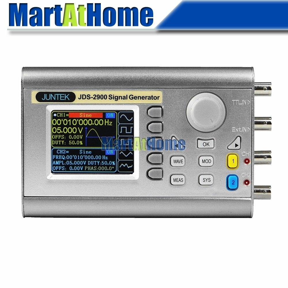 Цифровой двухканальный генератор сигналов DDS, произвольная форма сигнала, частота дискретизации сигналов 50 МГц, 266MSa/s, 1mVpp, ЖК-дисплей 2,4 дюйм...