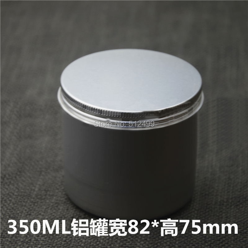 350g 50pcs Refillable empty round aluminum tin cans bottle food aluminum cans 350ml cosmetic container box tea aluminum jar c pe097 super chinese green food puer tea fuding white tea cake 350g sessile silver needle natural herbal white peony bag