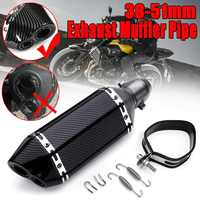 Universal 310mm Motorcycle Dirt Bike ATV Exhaust Modify Motocro Exhaust Muffler Pipe DB Killer For Yahama For Suzuki 38 51mm