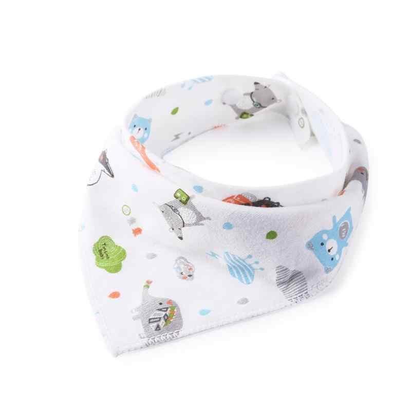 Нагрудники, Регулируемый многоразовый детский слюнявчик для новорожденных, полотенце из хлопка, моющиеся треугольные детские нагрудники для отрыжек, с рисунком, Tod, Новинка