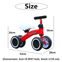 Baby Balance Bike Child Tricycle Bike for Kids Baby Toddler 1 3 years Learn To Walk Get Balance Sense No Foot Pedal Riding Toys