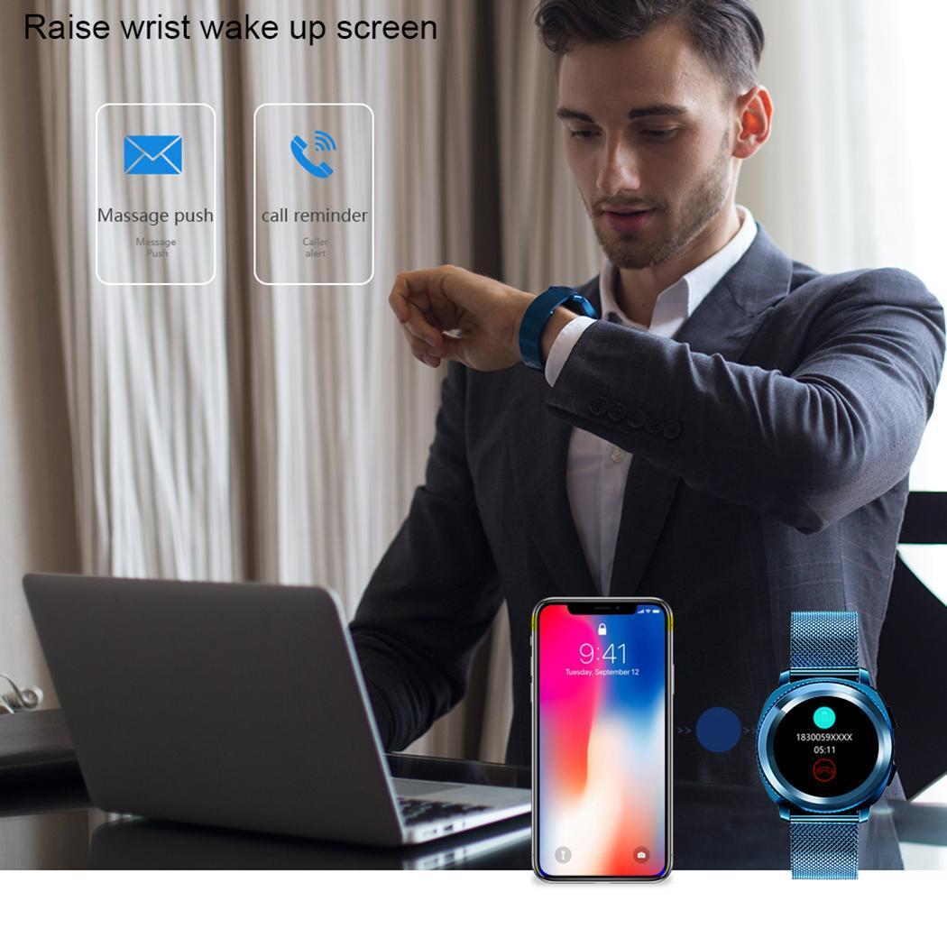 1 PC Nouveau écran lcd montre connectée jeu musique Smart-montre gps Anti-perdu Surveillance Du Sommeil Podomètre Bluetooth 3.0/4.0 380 mah