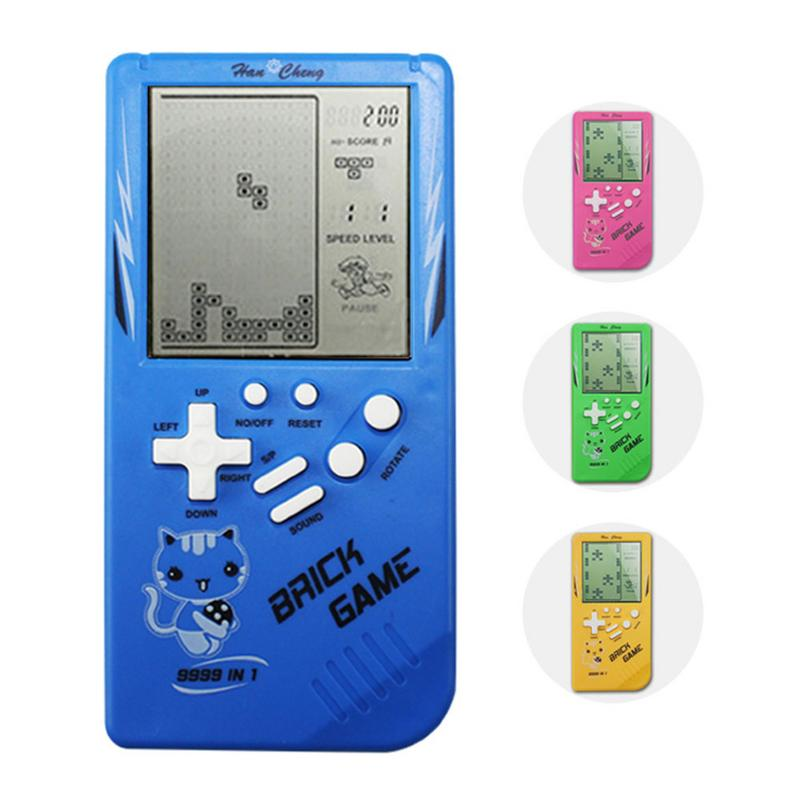 Game Console Handheld Classic Nostalgic Educational Toys For Children Educational Toy Tetris Brick Game Machine Without Battery