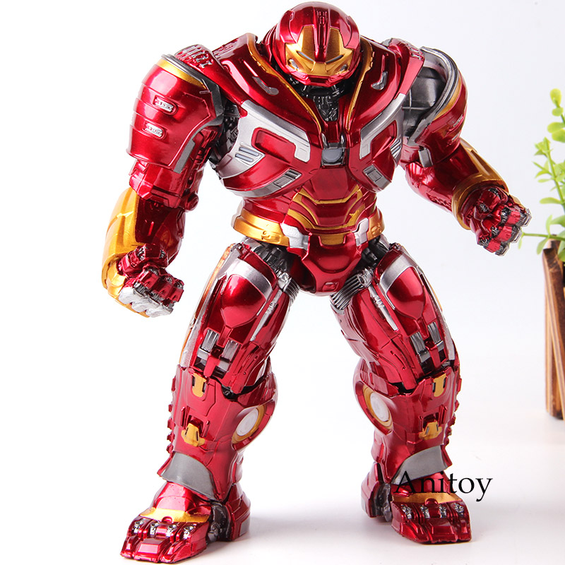 Marvel Avengers Infinity War Action Figure Iron Man Hulkbuster Hulk Buster Toy Lighting PVC Collection Model Toys