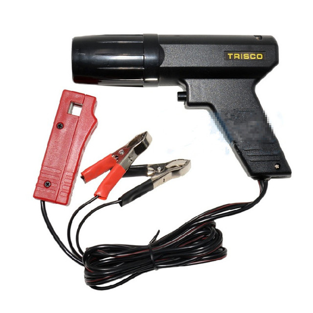 Car Diagnostic Tool Car Ignition Test Engine Timing Gun Machine Light Hand Tools Repair Cylinder Detector Power Tester TL 122