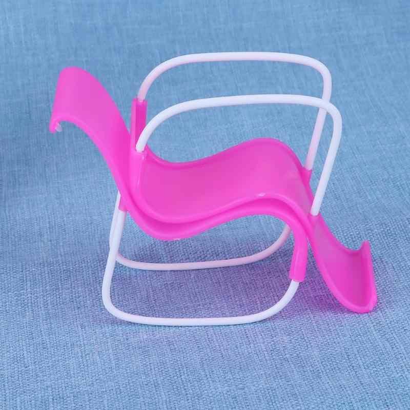 هزاز كرسي صالة الشاطئ ل دمية باربي الكراسي الوردي حلم البيت غرف معيشة غاردان الأثاث باربي إكسسوارات دمي 2 قطعة/المجموعة
