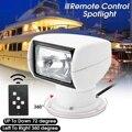 Smuxi 12 V 100 W 2500LM 3200 K barco camión coche Spotlight marino reflector luz bombilla Control remoto PC + aluminio Multi-ángulo blanco