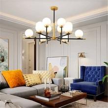 Nordic LED Chandelire Living Room Hanging Lamps Led Bedroom Chandelier Restaurant Hotel Lighting Decor Kitchen Fixtures
