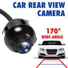 360 Degree CCD HD Car Front Side Rear View Back Up Camera Parking Reverse Monitor Mini Waterproof Rearview Camera Night Vision(China)