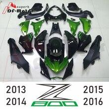 New Gloss Black Green ABS Plastic Injection Fairing Kit Motorcycle Fairings For Kawasaki Z800 Year 2013 2014 2015 2016 13 - 16 complete fairings for honda cbr1000rr 12 13 14 2012 2013 2014 abs plastic motorcycle fairing kit
