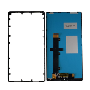 """Image 2 - Оригинальный 6,4 """"M & Sen для Xiaomi Mi Mix /Mi Mix Pro 18k версия керамическая средняя рамка ЖК экран дисплей + сенсорная панель дигитайзер Рамка"""
