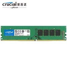 Оперативная память Crucial RAM DDR4, 2 ГБ, 4 ГБ, 8 ГБ, 16 ГБ, 2133 МГц, 288 Pin, CL17, 1,2 В, память ПК для настольных ПК