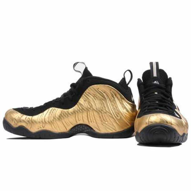 cheaper f2f57 17936 Nike Air Foamposite Pro Gold Bubble New Arrival Men Basketball Shoes Motion  Leisure Time Outdoor Sports Sneakers #624041-701