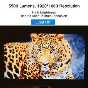 Image 5 - TouYinger M18 العارض كامل HD ، الأصلي 1080p 5500 التجويف ، خيار أندرويد ، LED عارض فيديو المسرح المنزلي كامل HD فيلم متعاطي المخدرات