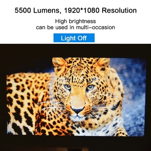 Image 5 - TouYinger M18 Projector full HD, native 1080p 5500Lumen , Android option , LED video Projector Home Theater Full HD Movie Beamer