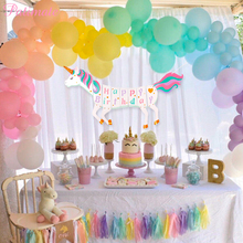 PATIMATE Unicorn Party Supplies  Pink Rainbow Cupcake Wrapper Birthday Decoration Baby Shower Decor