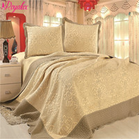 Brand Royalux Europe High Quality Quilted Bedspread 230*250 With Pillowcases On The Bed Warm Blanket With Pillowcases