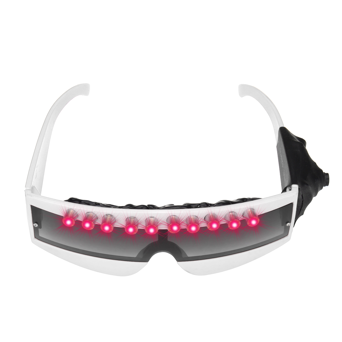 Party Red Light Laser LED DJ Glasses Nightclub Stage Dance Eyeglass Wedding Decoration Favor Halloween Glow Party Supplies