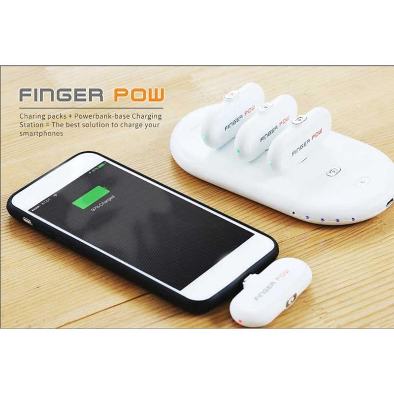 Station et paquets de charge portables avec trois adaptateur et un chargeur magnétique Micro USB type-c pour adaptateur iphone