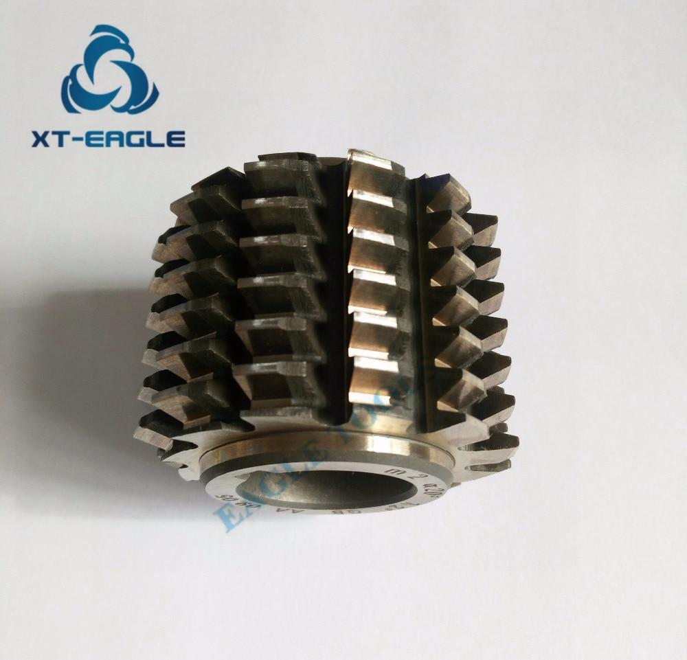 1pcs Gear Hob M0.7 bore 8mm 20 degree HSS Module 0.7 Gear Hob Cutter 25mm Dia A