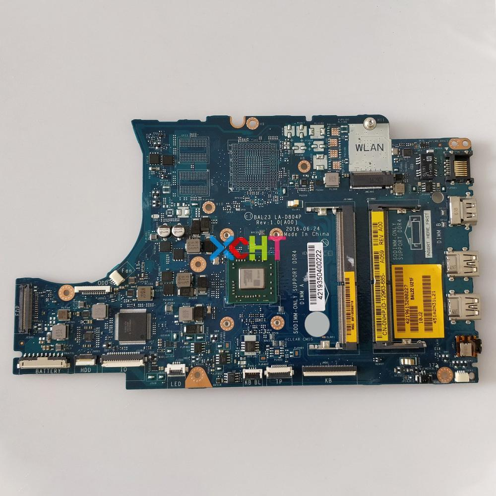 Dell Inspiron 15 5555 Laptop Motherboard w// AMD E2-7110 1.8GHz CPU PDGN4