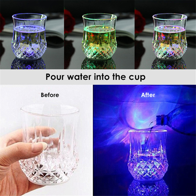 Automatic Flashing Drinking Cup  2