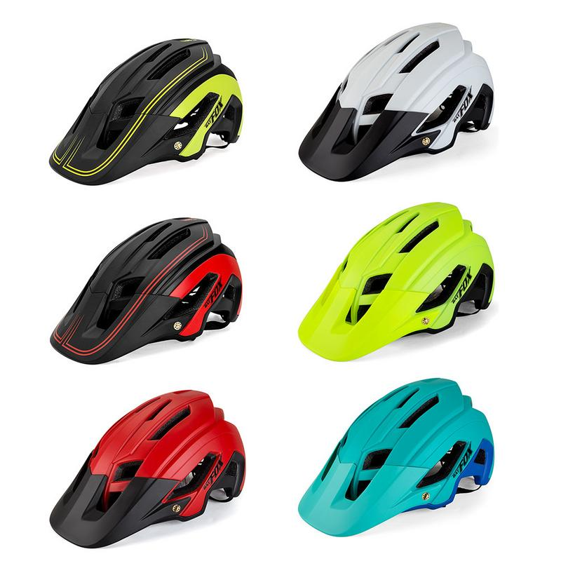 Cycling Helmet Riding Accessories Bicycle Mountain Bike Riding Helmet Outdoor Sports Supplies Cycling Equipment Head Protector