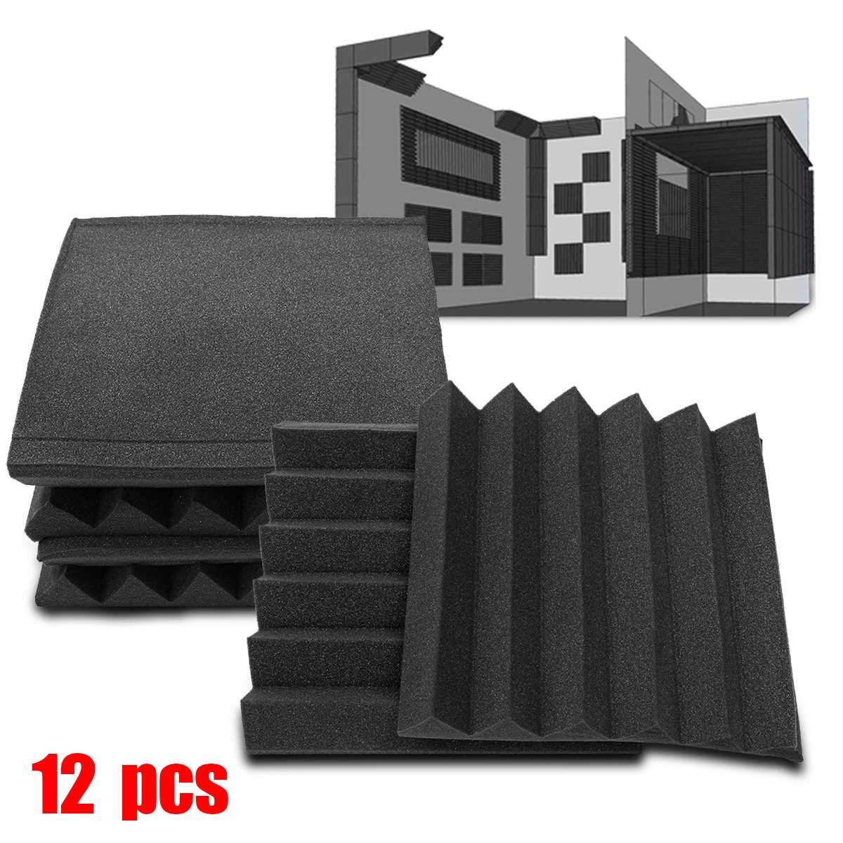 30x30cm Soundproofing Foam Acoustic Foam Sound Treatment Sound Proofing Studio Room Absorbing Wedge Tile Polyurethane Foam30x30cm Soundproofing Foam Acoustic Foam Sound Treatment Sound Proofing Studio Room Absorbing Wedge Tile Polyurethane Foam